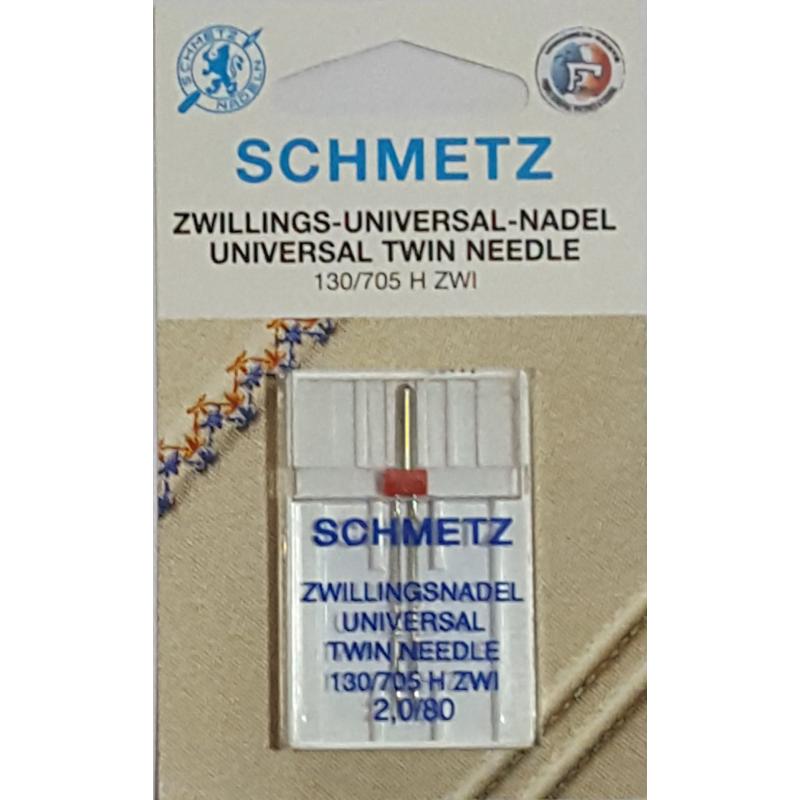 SCHMETZ AIGUILLE DOUBLE 2,0 MM