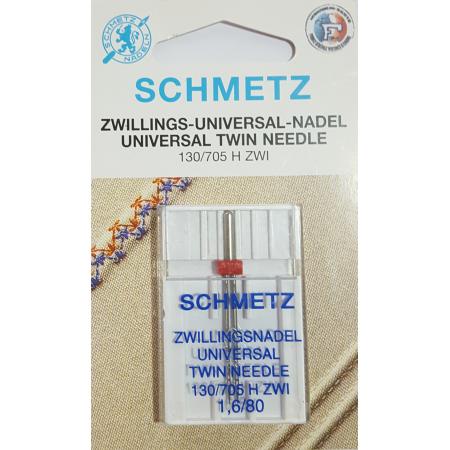 SCHMETZ AIGUILLE DOUBLE 1,6 MM