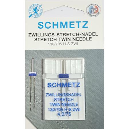 SCHMETZ AIGUILLE DOUBLE STRETCH 4 MM