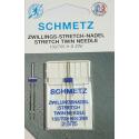 SCHMETZ AIGUILLE DOUBLE STRETCH 2.5 MM
