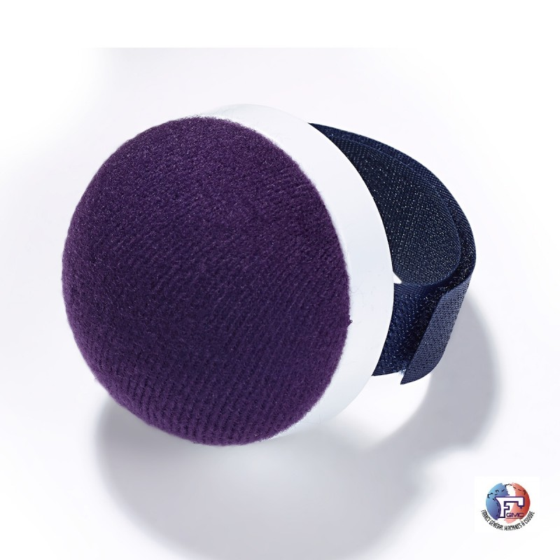 Bracelet pelote mousse auto-agrippante