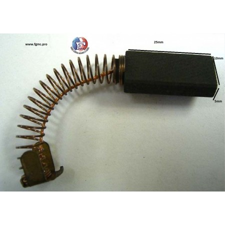 CHARBON EFKA GD 5mmX10mmX25mm