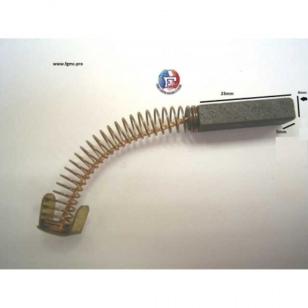 CHARBON WEG 5mmX8mmX23mm
