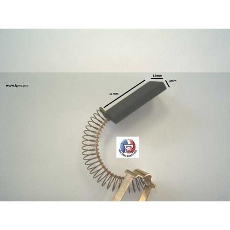 CHARBON KOBOLD 26 0UUS 3mm X1mm 2X20mm