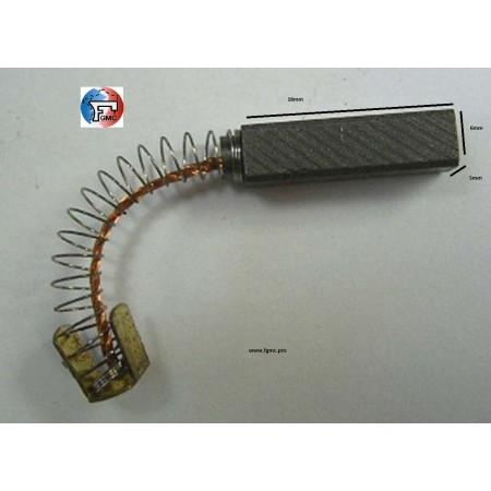 CHARBON PFAFF 1222 5mm X 6mm X 18mm