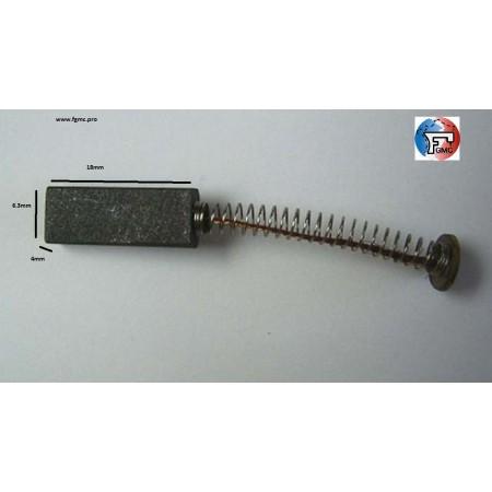 CHARBON LUXOR 4mmX6.3mmX18mm