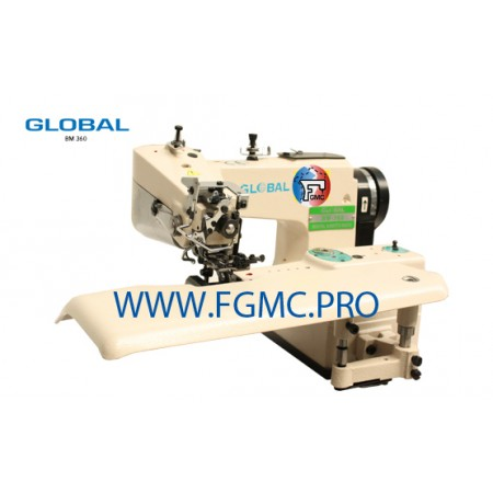 Global BM 360 Series - MACHINE POINT INVISIBLE